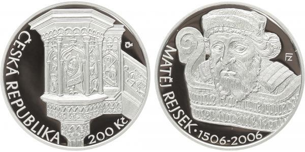 200 Kč 2006 - Matěj Rejsek, PROOF