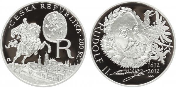 200 Kč 2012 - Rudolf II., PROOF