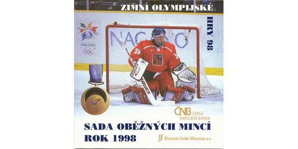 Ročníková sada mincí 1998 - Zimní olympijské hry Nagano