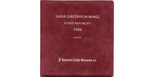 Ročníková sada mincí 1998 - PROOF