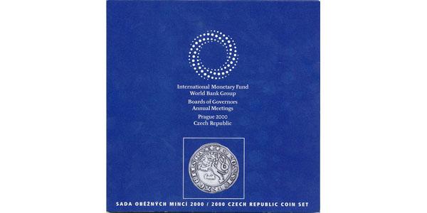 Ročníková sada mincí 2000 - Mezinárodní měnový fond