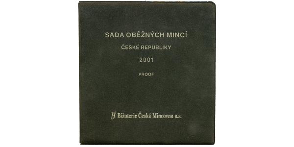 Ročníková sada mincí 2001 - PROOF