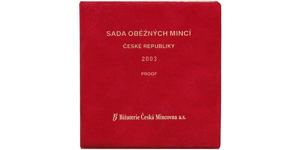 Ročníková sada mincí 2003 - PROOF