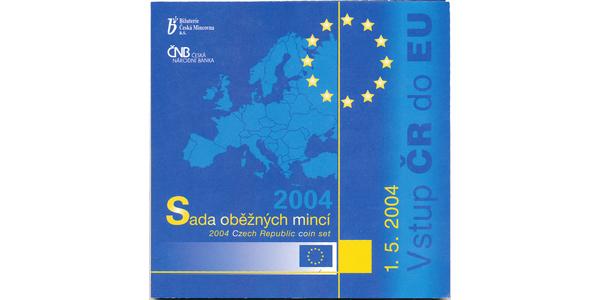 Ročníková sada mincí 2004 - Vstup do Evropské unie
