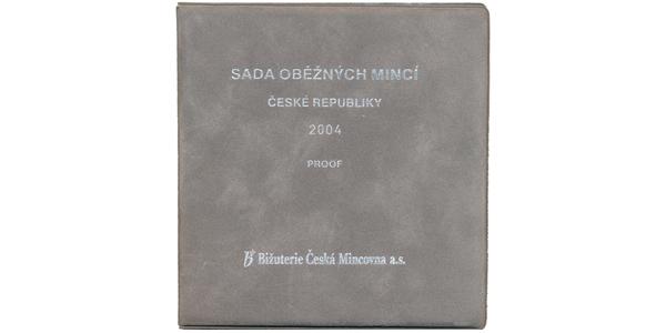 Ročníková sada mincí 2004 - PROOF