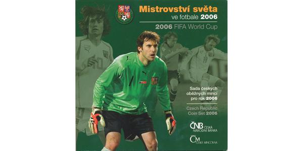 Ročníková sada mincí 2006 - MS ve fotbale