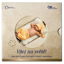 Ročníková sada mincí 2012 - Vítej na světě
