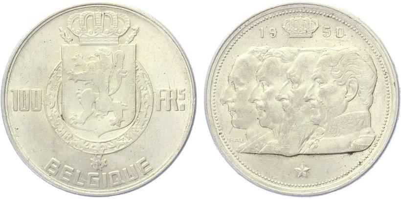 100 Frank 1950