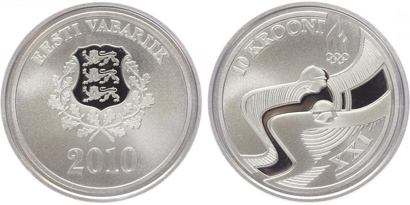 10 Krooni 2011 - XXI. zimní Olympijské hry, PROOF