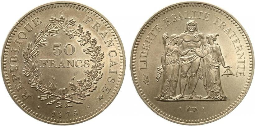 50 Frank 1975 - Svoboda, rovnost, bratrství