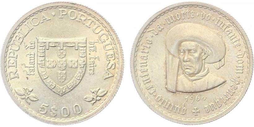 1000 Escudos 1997 - Santa Maria - patronka, běžná kvalita