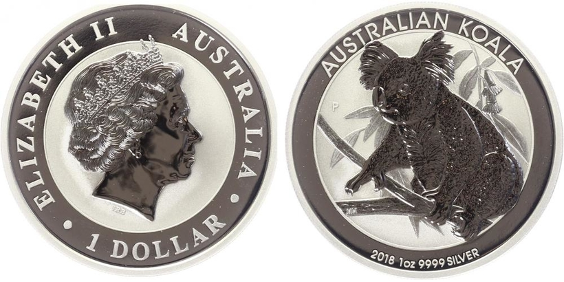 1 Dollar 2018 - Koala, Ag 0,999 (31,10 g), 1 Oz, PROOF