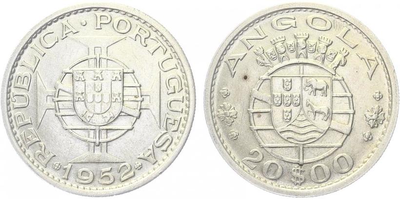 20 Escudo 1952