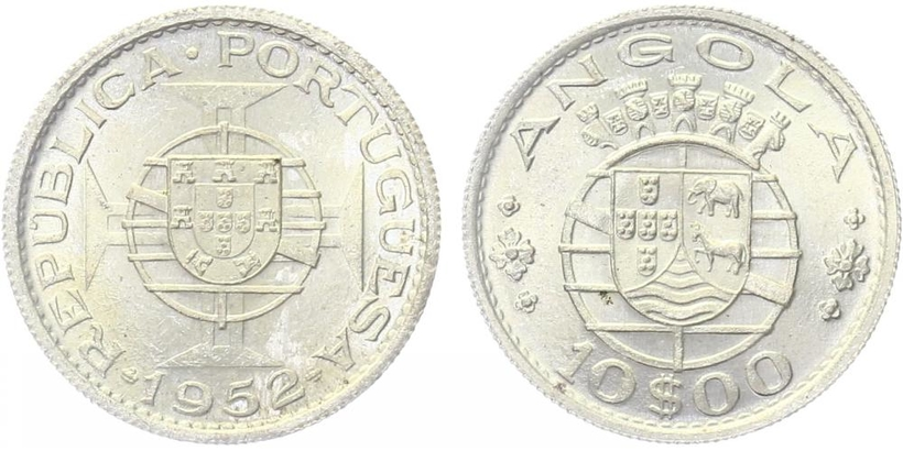 10 Escudo 1952