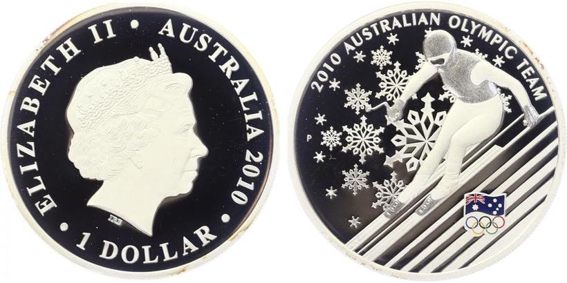 Dollar 2010 - Australský olympijský tým, PROOF