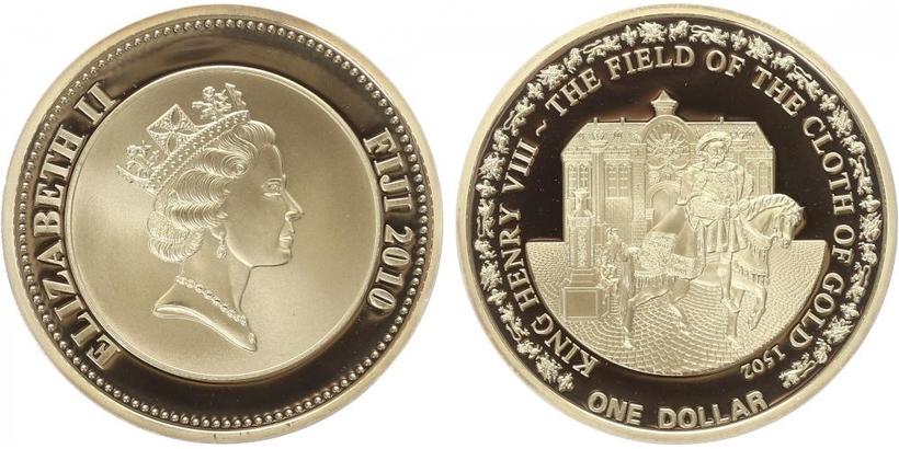 Dolar 2010 - Jindřich VIII., PROOF
