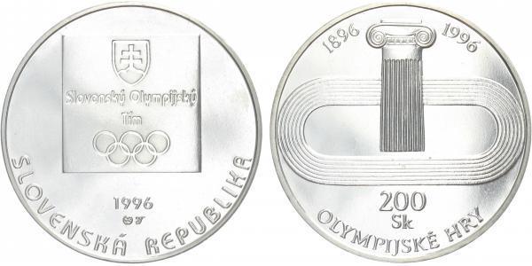 200 Sk 1996 - Olympijské hry, běžná kvalita