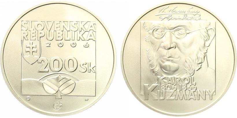 200 Sk 2006 - Karol Kuzmány, bežná kvalita