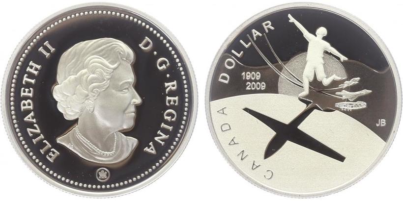 Dollar 2009 - 100. výročí letectví Kanady, PROOF