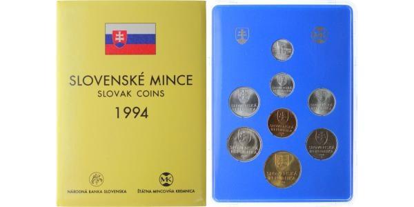 Ročníková sada mincí 1994