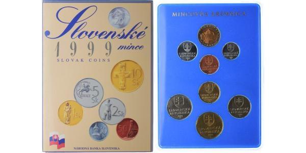 Ročníková sada mincí 1999