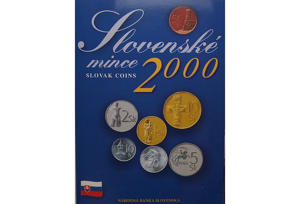 Ročníková sada mincí 2000