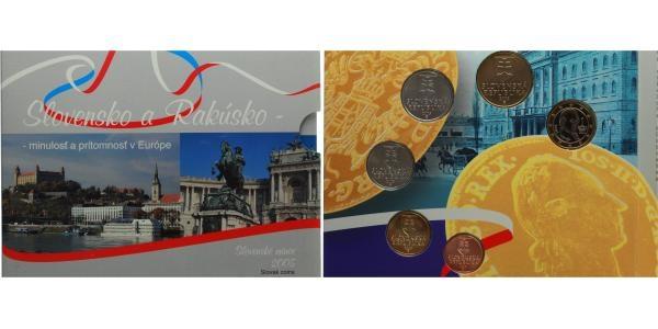 Ročníková sada mincí 2005 - Slovensko a Rakousko