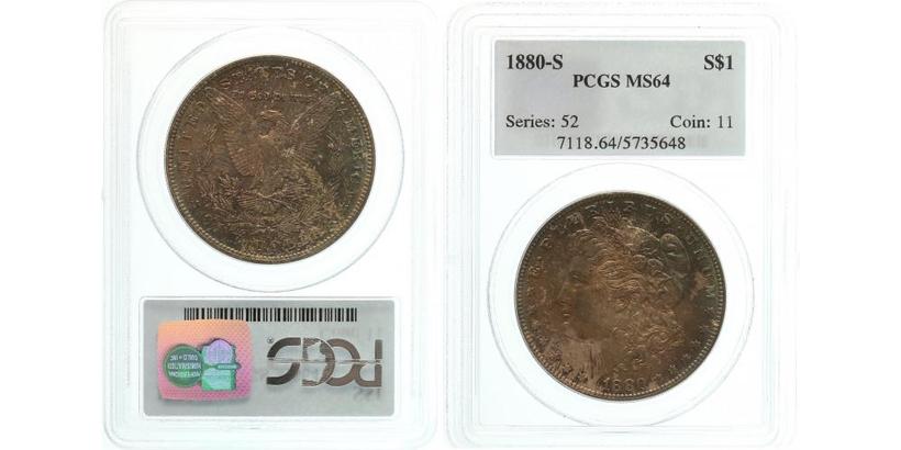 Dollar 1880, San Francisco
