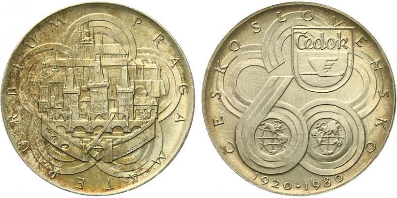 AR Medaile 1980 - Čedok - 60. výročí