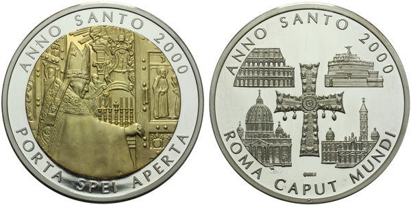 AR Medaile 2000 - Svatý rok 2000, PROOF