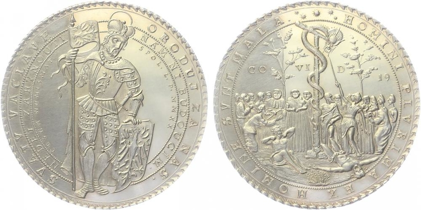 AR Medaile 2019 - Morový tolar - Covid 2019
