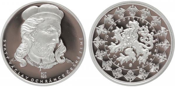 AR Medaile b.l. - Svatý Václav, PROOF
