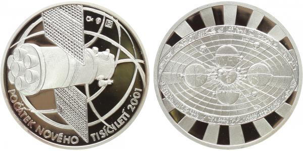 AR Medaile 2001 - Počátek nového tisíciletí, Proof