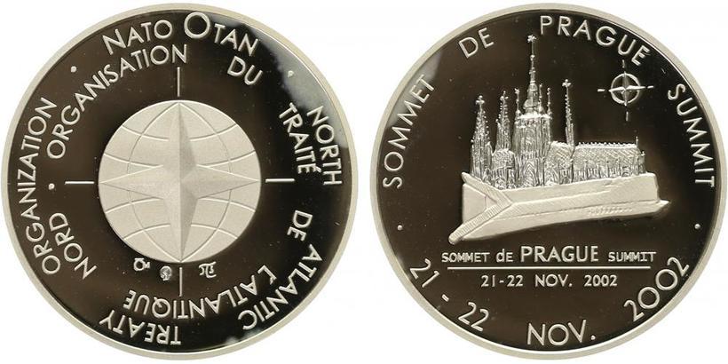 Česká mincovna, Medaile 2002 - Summit NATO 2002 - Praha