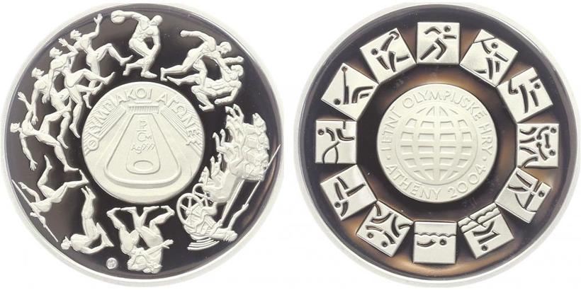 AR Medaile 2004 - OH v Athénách, PROOF