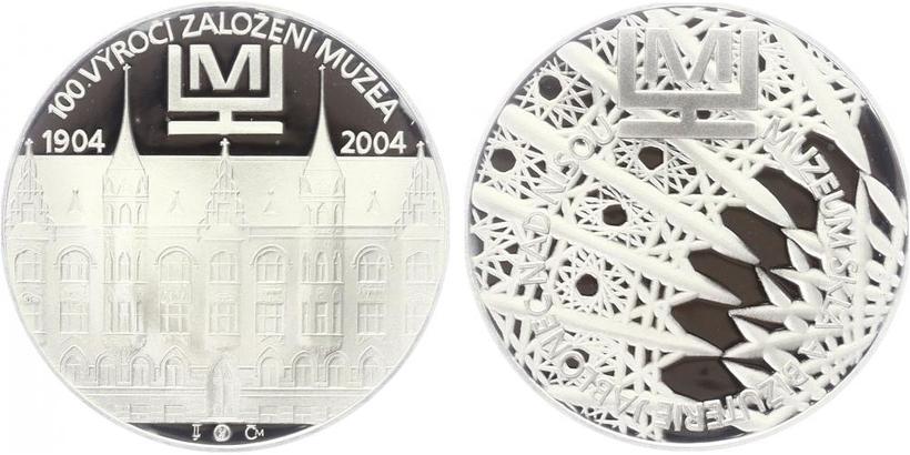 AR Medaile 2004 - Muzeum v skla a bižuterie, PROOF,