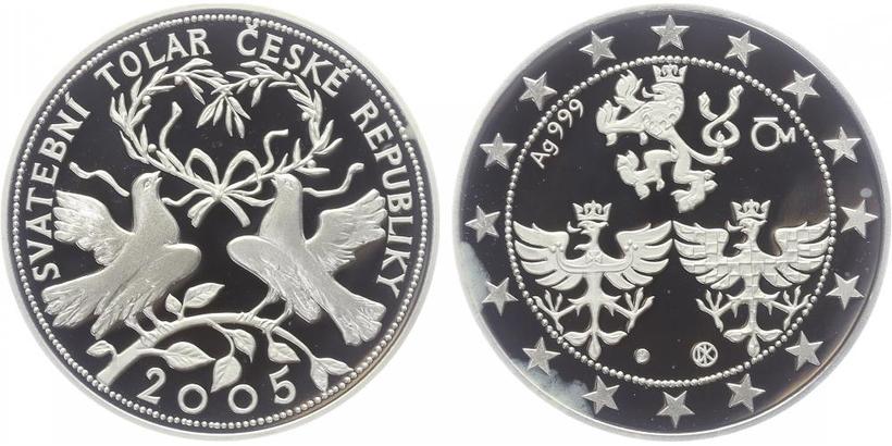 AR Medaile 2005 - Svatební tolar, PROOF,