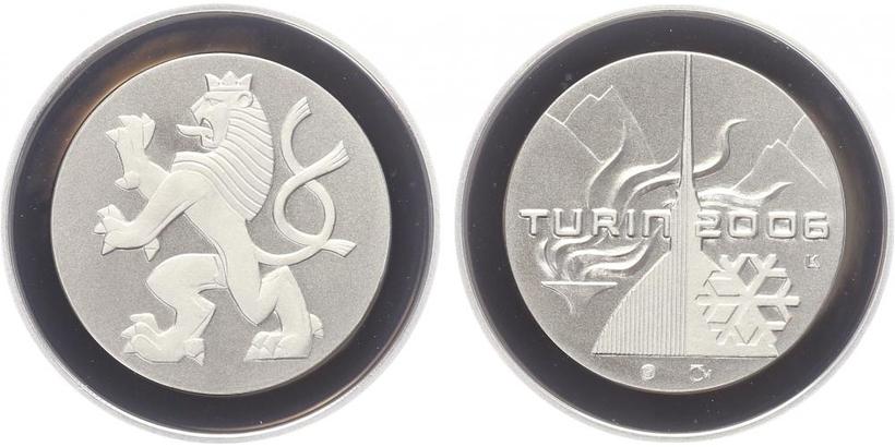 AR Medaile 2006 - OH Turín, PROOF
