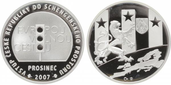 AR Medaile 2008 - Vstup do Schengenského prostoru, PROOF