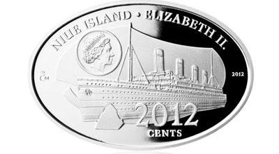 AR Medaile 2012 - 100 let od zkázy Titanicu, PROOF