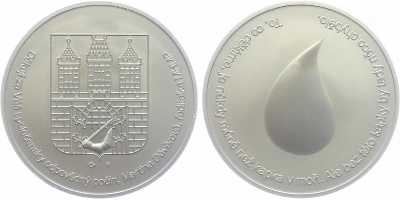 AR Medaile b.l. - Karlův most, PROOF