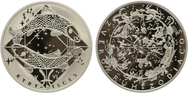 AR Medaile b.l. - Znamení zvěrokruhu, Ryby - Pisces, PROOF