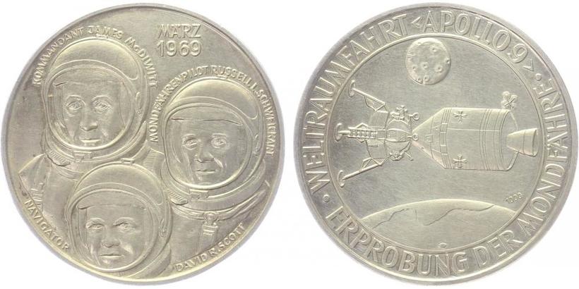 AR Medaile 1969 - Apollo 9