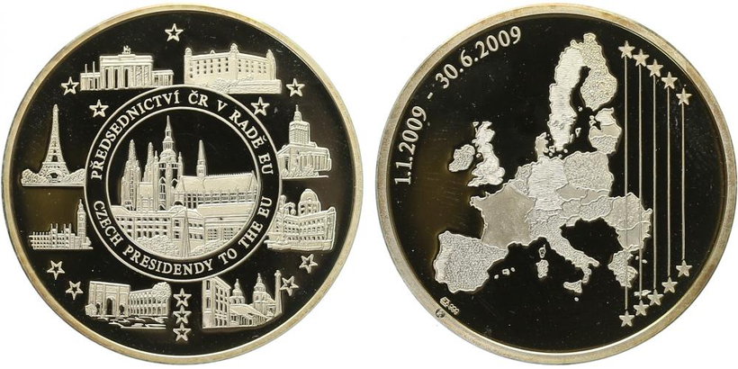AR Medaile 2009 - Předsednictví ČR v radě evropy, PROOF