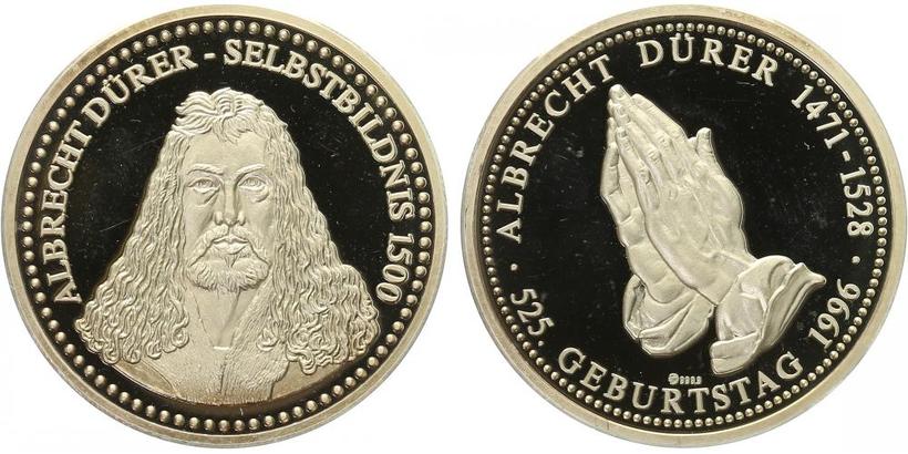 AR Medaile b.l. - Albrecht Dürer, PROOF