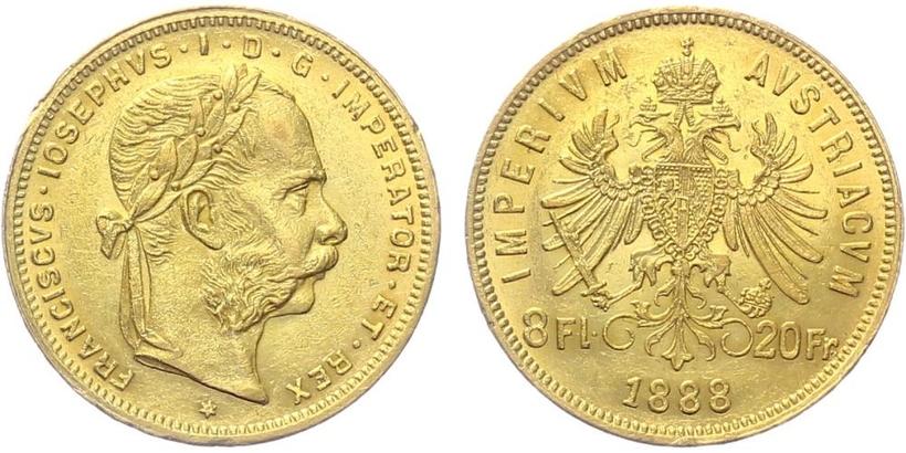 František Josef I., 8 Zlatník 1888