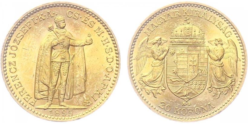 20 Koruna 1895 KB
