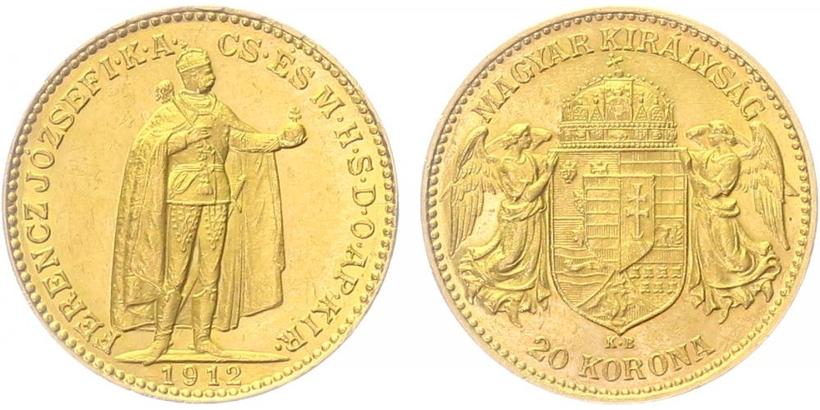 20 Koruna 1912 KB