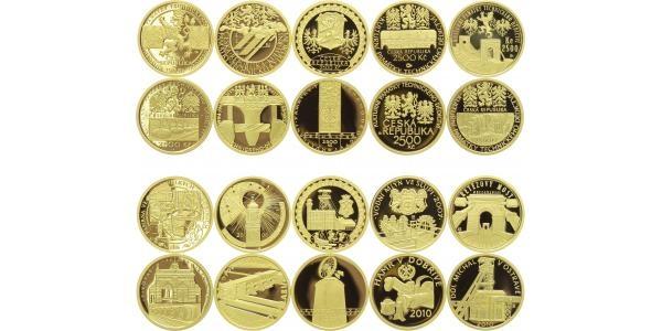 Kulturní památky technického dědictví, kompletní sada, PROOF