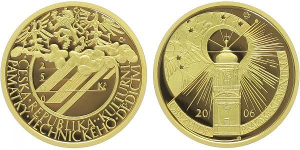 2500 Kč 2006 - Observatoř Klementinum, PROOF